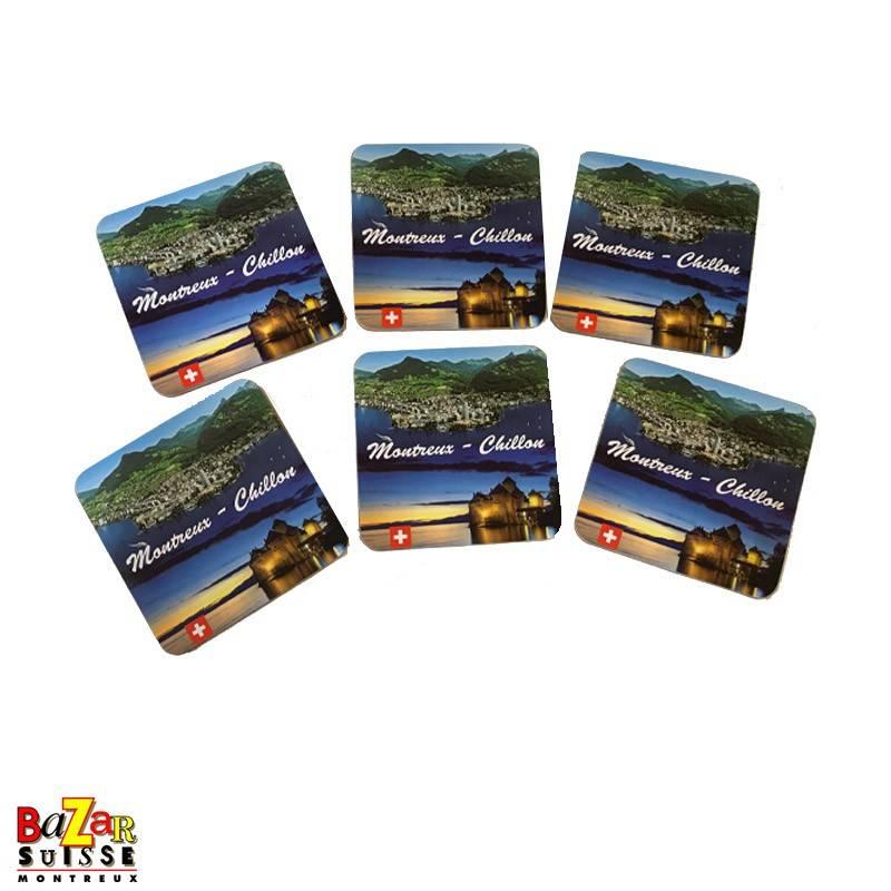 Coasters - Montreux-Chillon