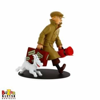 """Figurine Tintin """"ils arrivent"""""""