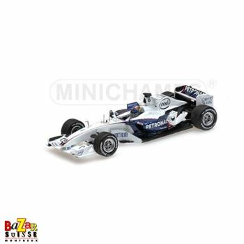 Sauber BMW C24B - A. Zanardi car 1:18 by Minichamps