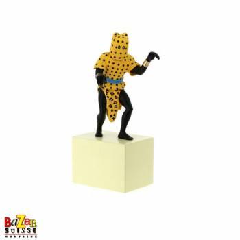 Statuette l'homme-léopard
