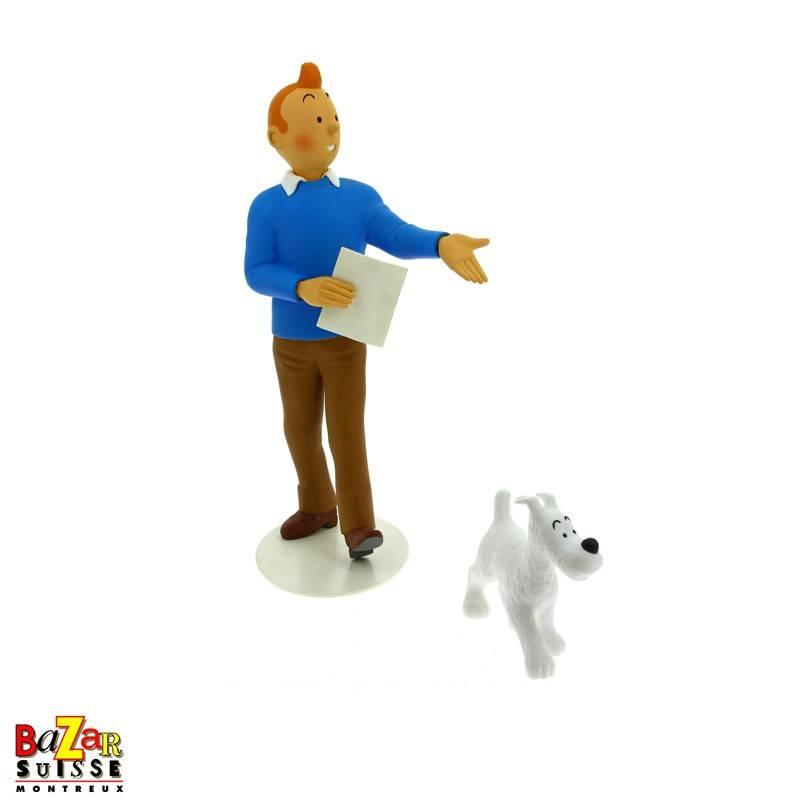Tintin & Snowy figurine