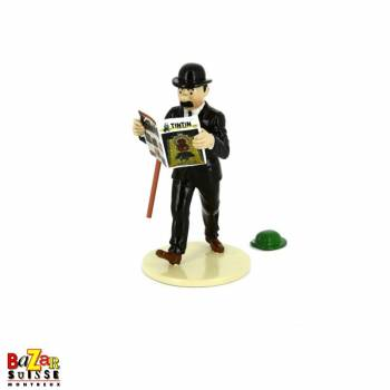 Figurine Dupond lit Tintin