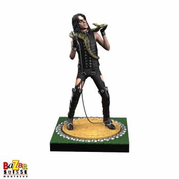 "Alice Cooper ""Billion Dollar Babies"" - figurine Rock Iconz de Knucklebonz"