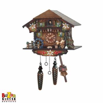 Quartz Cuckoo-clock - beer/water mill