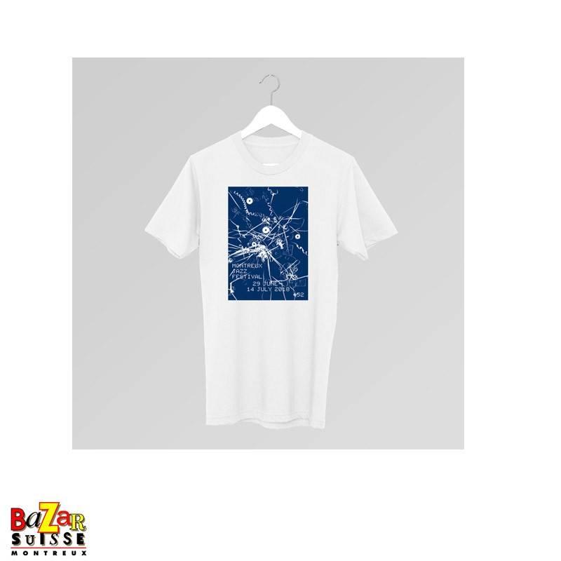 Official 2018 Montreux Jazz Festival T-shirt