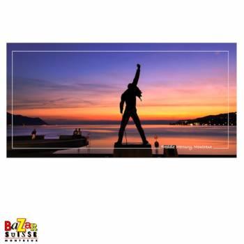 Carte postale - Freddie Mercury - Montreux