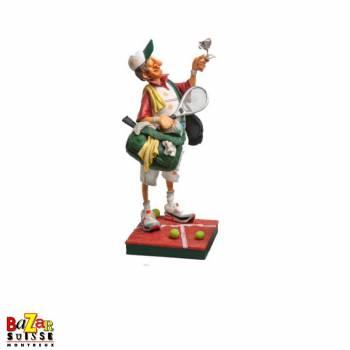 Le joueur de tennis - figurine Forchino