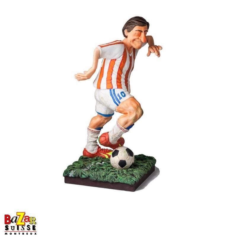 Le joueur de football - figurine Forchino