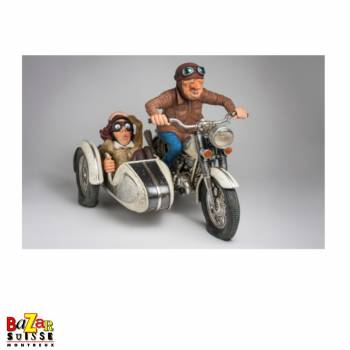 Promenade en Side-Car - figurine Forchino