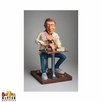 Mr. Pokerface - Forchino figurine