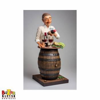 L'Amateur de Vin - figurine Forchino