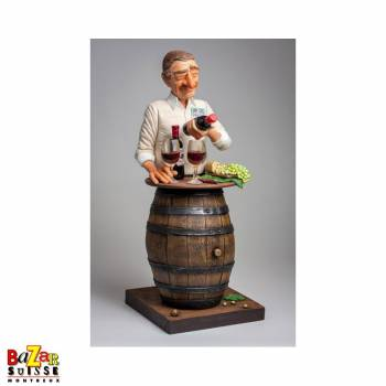 The Wine Lover - Forchino figurine