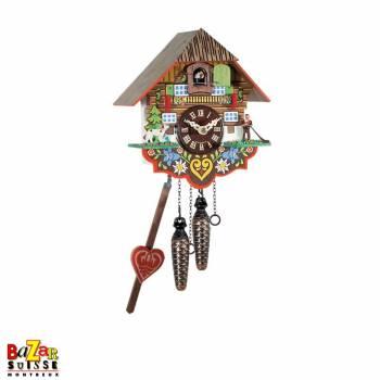 Quartz Cuckoo-clock - alphorn