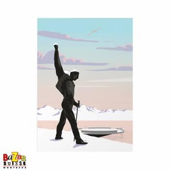 Carte postale Freddie Mercury