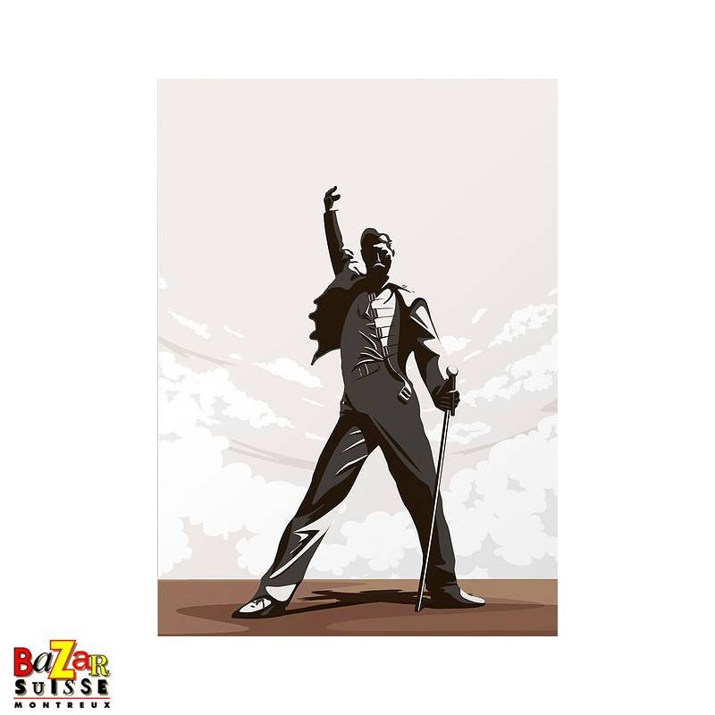 Freddie Mercury postcard