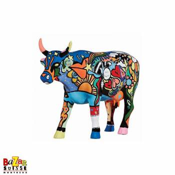 Moosy in the sky with Diamonds - cow CowParade