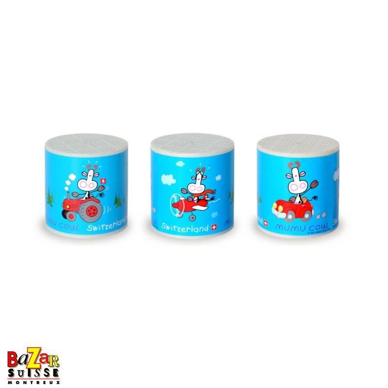 Boîte à meuh Mumu Cow - bleu