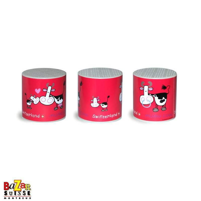 Moo box Mumu Cow - raspberry