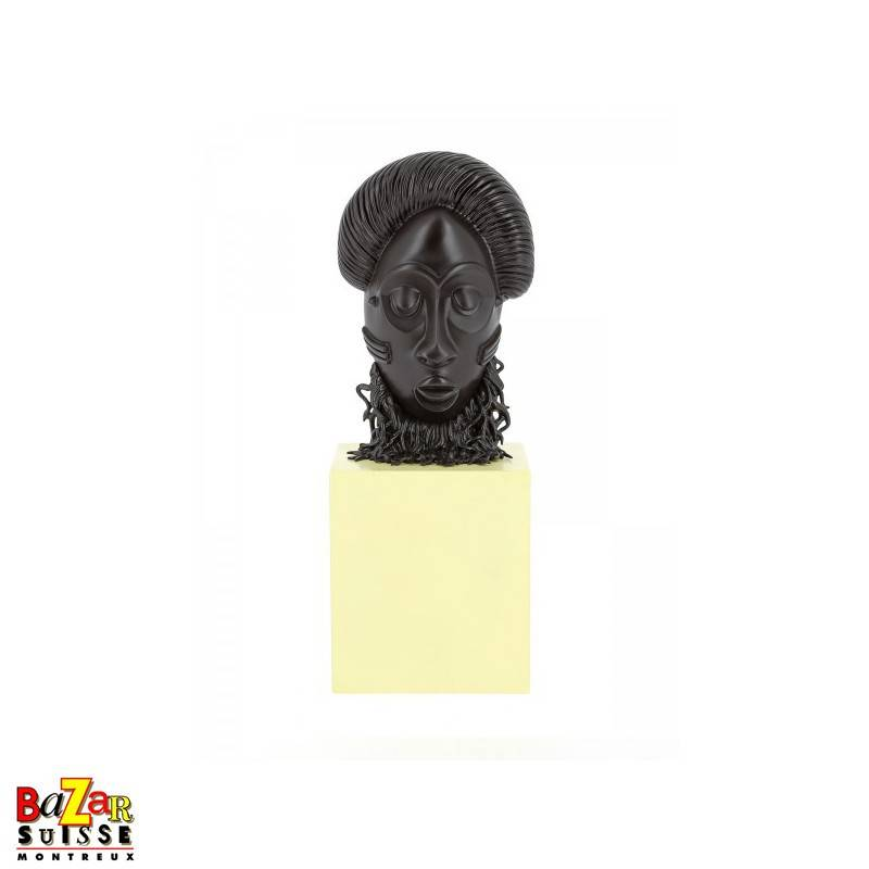 African Mask Statue