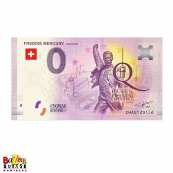 Billet touristique - Freddie Mercury - Montreux