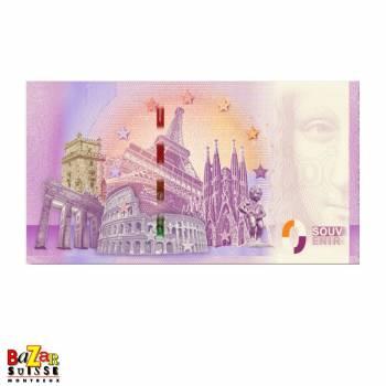 Tourist ticket - Freddie Mercury - Montreux