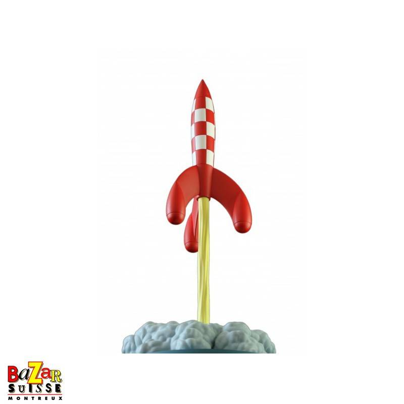 Prof Calculus - Rocket - on takeoff figurine