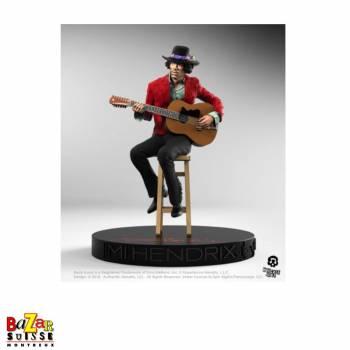 Jimi Hendrix - figurine Rock Iconz de Knucklebonz