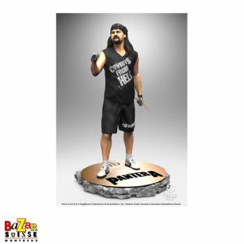 Vinnie Paul - Pantera - figurine Rock Iconz de Knucklebonz