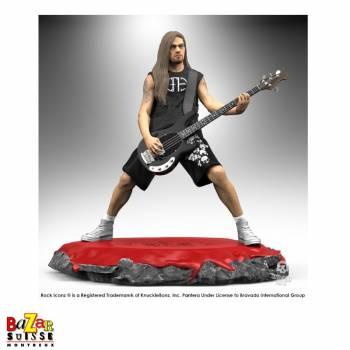 Rex Brown - Pantera - figurine Rock Iconz de Knucklebonz