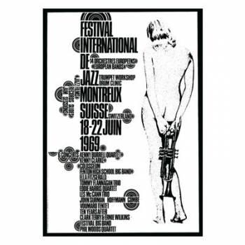 Poster Montreux Jazz Festival 1969