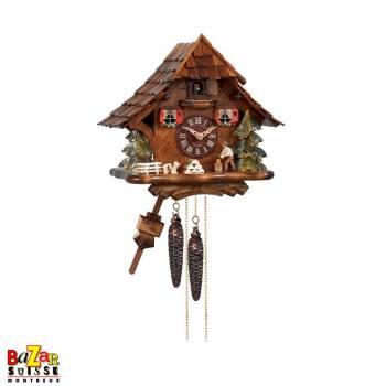 Cuckoo-clock - wood cutter