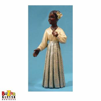 The singer in a white dress - figurine All That Jazz Standard