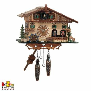 Quartz Cuckoo-clock - Mill/dancers