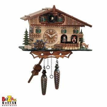 Quartz Cuckoo-clock - Mill/dancers
