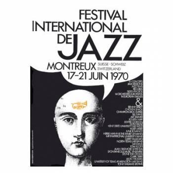 Poster Montreux Jazz Festival 1970