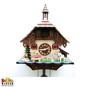 Quartz Cuckoo-clock - church/-St.-Bernard