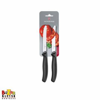 Swiss Classic Tomato and Table Knife Set - Victorinox