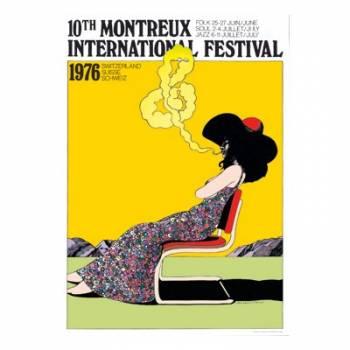 Poster Montreux Jazz Festival 1976
