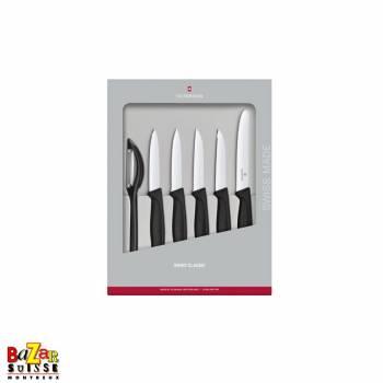 Set de couteaux d'office Swiss Classic, 6 pièces - Victorinox