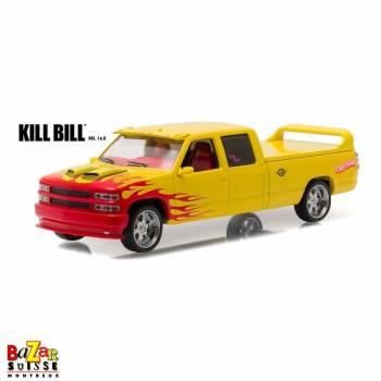 Chevrolet Silverado Pussy Wagon Kill Bill 1:18 de Greenlight