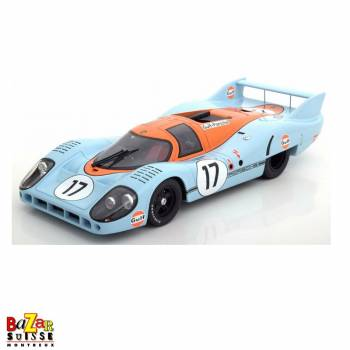 Porsche 917 Long Tail –  Siffert/Bell Le Mans 1971 1:18 scale by Auto Art