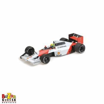 McLaren Honda MP4/5B, 1990, Ayrton Senna 1:18 scale by Minichamps