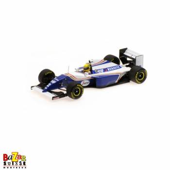 Williams Renault FW16, 1994,  Ayrton Senna 1:18 scale by Minichamps