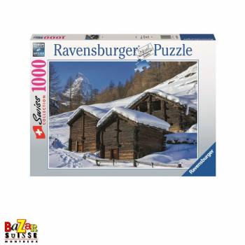 Zermatt in winter - Ravensburger jigsaw Puzzle