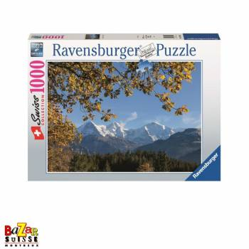 Eiger Mönch and Jungfrau - Ravensburger jigsaw Puzzle