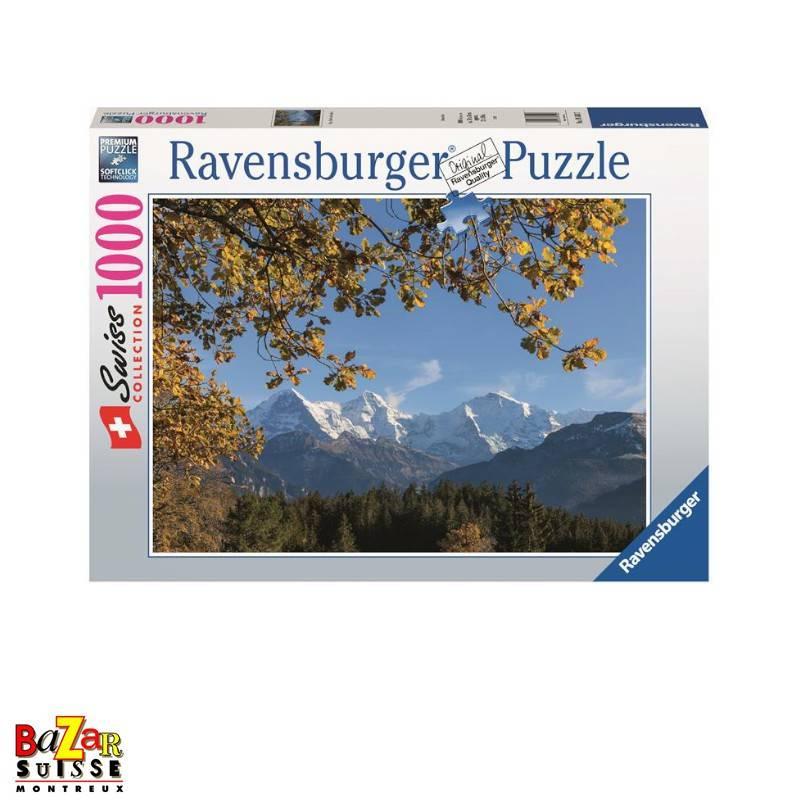 Eiger Mönch et Jungfrau - Puzzle Ravensburger