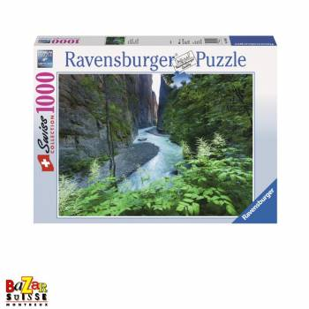 The Aare Gorge - Ravensburger jigsaw Puzzle