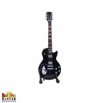 Gene Simmons «The Demon» - Mini-guitare en bois