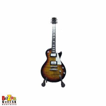 Jimmy Page / Led Zeppelin - Mini-guitare en bois