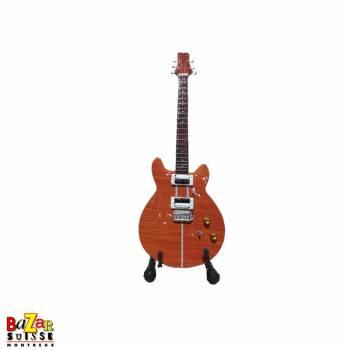 Carlos Santana / Santana - wooden mini-guitar